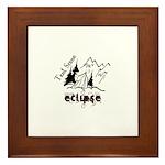 Eclipse-Tent Scene Framed Tile