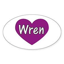 Wren Decal