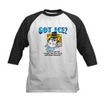 Global Warming Kids Baseball Jersey