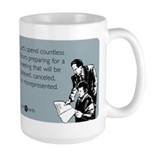 Countless Hours Large Mug
