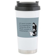 Countless Hours Stainless Steel Travel Mug