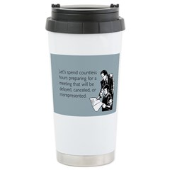 Countless Hours Travel Mug