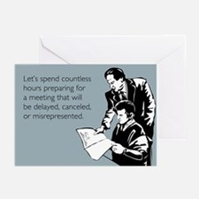Countless Hours Greeting Cards (Pk of 10)