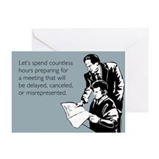 Countless Hours Greeting Cards (Pk of 20)