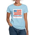 God Bless America With Bacon Women's Light T-Shirt