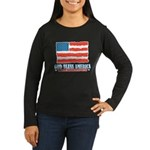 God Bless America With Bacon Women's Long Sleeve D