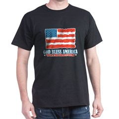 God Bless America With Bacon T-Shirt