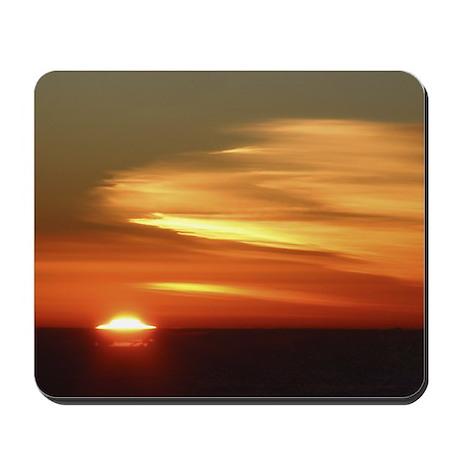 Red Sunrise Mousepad