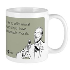 Questionable Morals Small Mugs