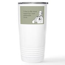 Questionable Morals Ceramic Travel Mug