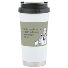 Questionable Morals Travel Mug