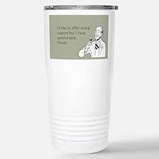 Questionable Morals Travel Mug