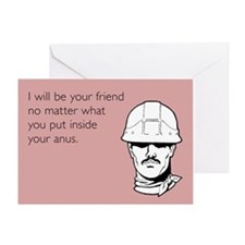 Friend No Matter What Greeting Card