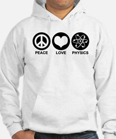 Peace Love Physics Hoodie