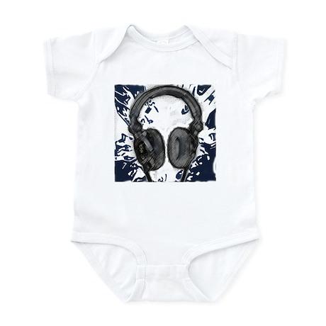 Headphones Abstract Infant Bodysuit