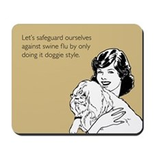 Doggie Style Mousepad