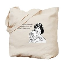 Doggie Style Tote Bag