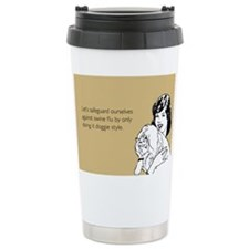 Doggie Style Stainless Steel Travel Mug