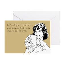 Doggie Style Greeting Card