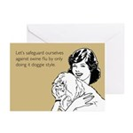 Doggie Style Greeting Cards (Pk of 20)