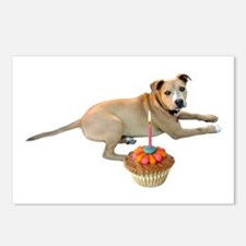 Birthday Dog Postcards (Package of 8)