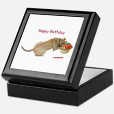 Birthday Dog Keepsake Box