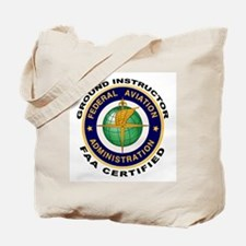 FAA Certified Ground Instructor Tote Bag