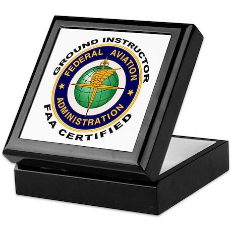FAA Certified Ground Instructor Keepsake Box