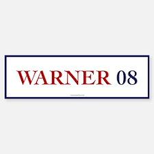 Warner 08 Bumper Bumper Bumper Sticker