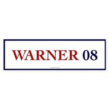 Warner 08 Bumper Bumper Sticker