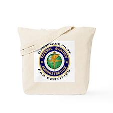 FAA Certified Gyroplane Pilot Tote Bag