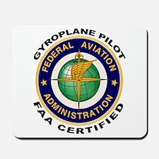 FAA Certified Gyroplane Pilot Mousepad
