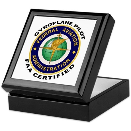 FAA Certified Gyroplane Pilot Keepsake Box