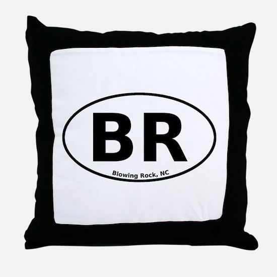 Blowing Rock, NC Euro Throw Pillow