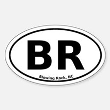 Blowing Rock, NC Euro Decal