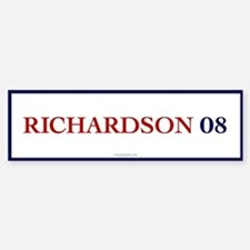 Richardson 08 Bumper Bumper Bumper Sticker
