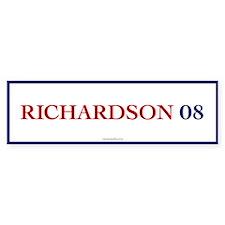 Richardson 08 Bumper Car Car Sticker