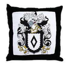 Shipley Coat of Arms Throw Pillow