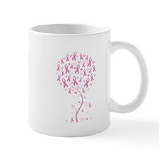 Pink Ribbon Breast Cancer Tre Mug