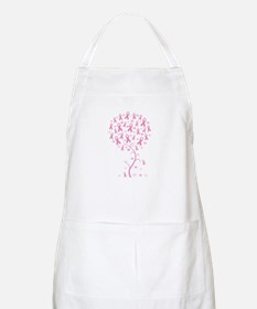 Pink Ribbon Breast Cancer Tre Apron