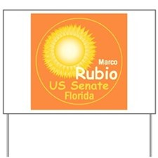 Marco Rubio Yard Sign