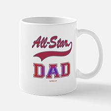 All Star Dad Father's Day Mug