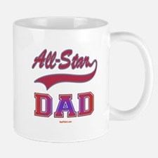 All Star Dad Father's Day Small Small Mug