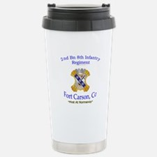 2nd Bn 8th Inf Travel Mug