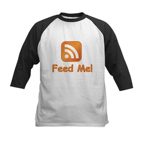 Feed Me Kids Baseball Jersey