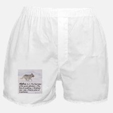 Alpha Wolf Apparel Boxer Shorts