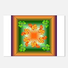 Nature Mandala Postcards (Package of 8)