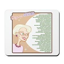 A Gorgeous Grandma Is... Mousepad