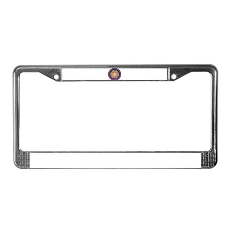 Nature Mandala License Plate Frame