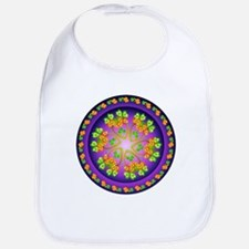 Nature Mandala Bib